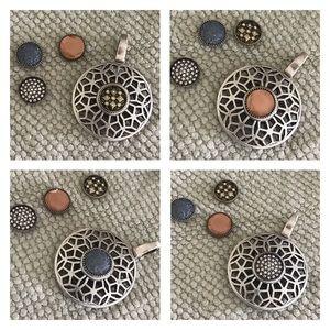 Premier Designs Interchangeable Necklace Pendant